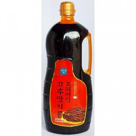업소용 식당 식자재 재료 미소찬 고추맛기름 1.6L X10