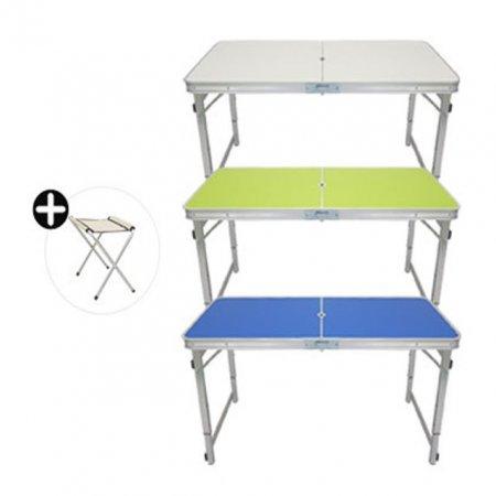 휴대용 캠핑용 테이블 접이식 간이의자 세트