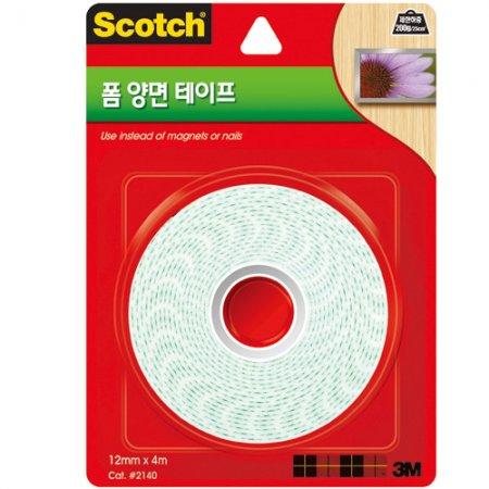 스카치 폼 양면 테이프(2140/3M)