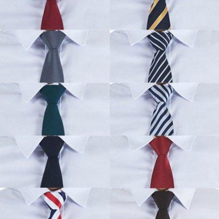 교복넥타이 10칼라 기본넥타이 넥타이 유니폼
