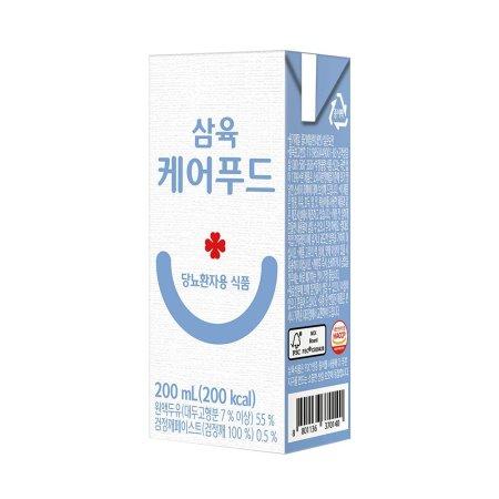 삼육 케어푸드 당뇨환자용 식품 200ml 24