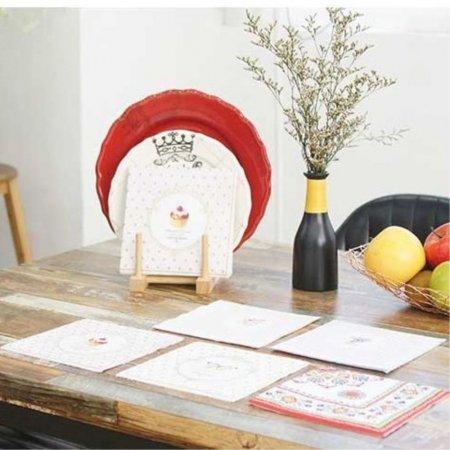 야외 캠핑 디자인 소품 테이블 식탁 매트 냅킨 에스닉