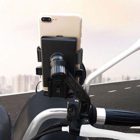 바이크 핸드폰 거치대 360도 회전 스마트폰 거치대