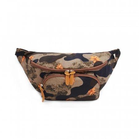 밀리터리룩 여성힙색 여행용힙색 여자벨트백 가방