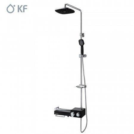 KF 선반형해바라기샤워기 KFB-10000 블랙