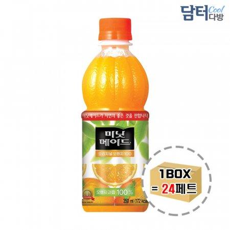 미닛메이드 오렌지 350ml (24페트)
