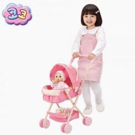 코코 인형 유모차 유아 장난감 완구