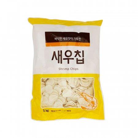 튀겨먹는 새우칩 1kg/ 업소용 간식/ 대용량 안주