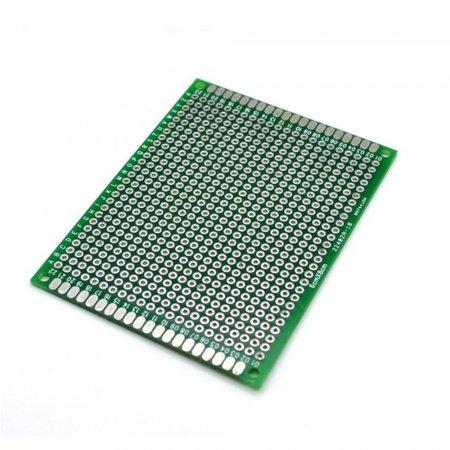 PCB기판 6X8 만능기판 양면기판 에폭시 납땜 회로판