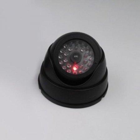 원형 모형 감시 카메라 CCTV(블랙)