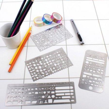 모형 철자 세트 디자인 다각형 모양 사무 문구 학용품
