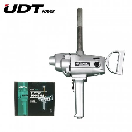 UDT 믹싱드릴 콘크리트 믹서기 전동 믹서 드릴 UX-23
