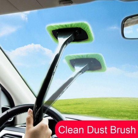 브러쉬 자동차 창 클리너 유리 세차 먼지 청소 관리