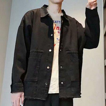 남자 면자켓 봄 가을 잠바 점퍼 캐주얼 남성 자켓 2색