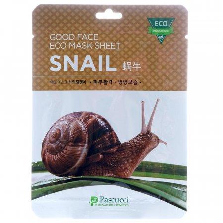 에코 마스크팩 달팽이 피부활력 촉촉영양보습 10매