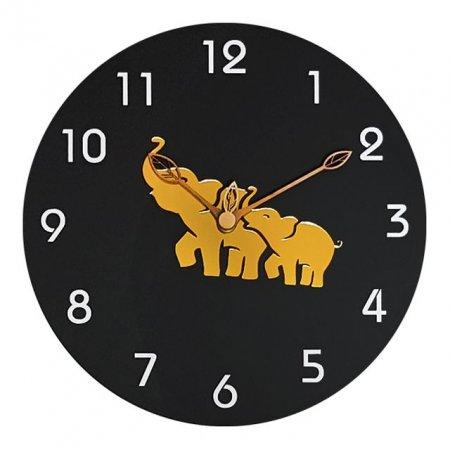 300코끼리무소음벽시계OP