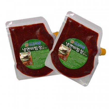 옥천 냉면 비빔장-1박스(500gx30개)냉면 전문점용