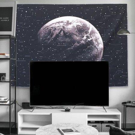 대형 패브릭 포스터 별이 빛나는 하늘 L