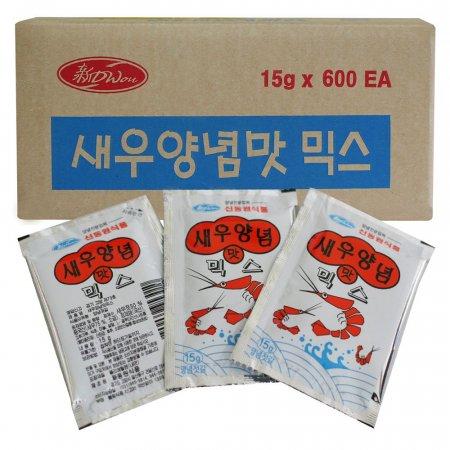 새우양념맛믹스 15g 600개 1박스