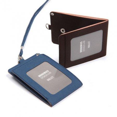 지갑형 목걸이 카드 케이스 목걸이형 교통카드