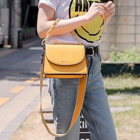 여성 깔끔한 디자인 가방 크로스백 끈길이 조절 가능
