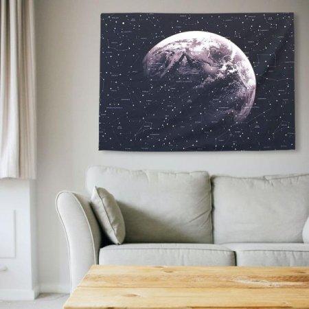 대형 패브릭 포스터 별이 빛나는 하늘 M