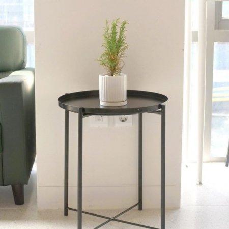 사이드 테이블 철제 조립식 협탁 쇼파 책상 DIY가구