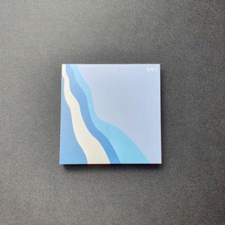 0.7M 부산여행 굿즈 흰여울길 디자인 메모지