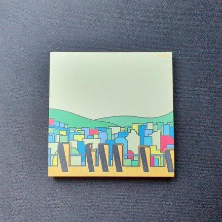 0.7M 부산여행 굿즈 감천문화마을 디자인 메모지