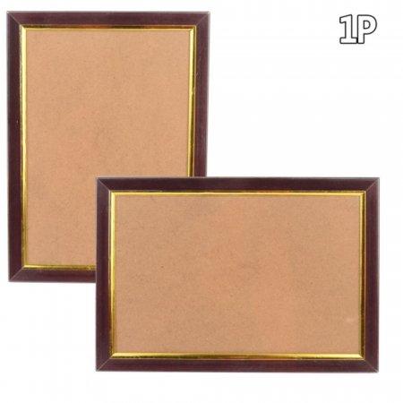 벽걸이 사진 그림 상장 전시 A4용 브라운 컬러 액자