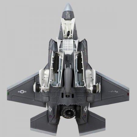 F-35B 라이트닝 스텔스 수직이착륙기 합금 공군 F35