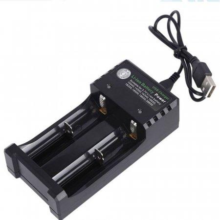 초강력 리튬이온 고성능 배터리 2구 충전기