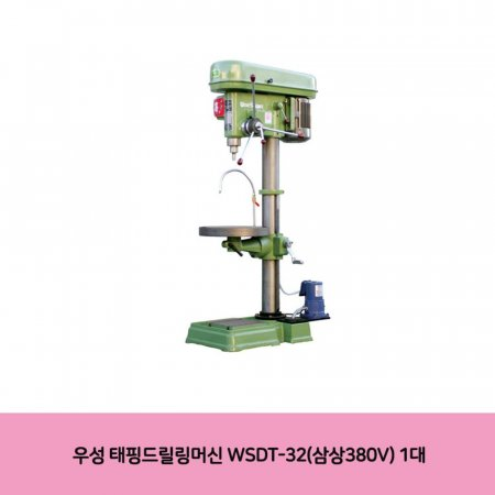 우성 태핑드릴링머신 WSDT-32(삼상380V) 1대