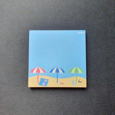 0.7M 부산여행 굿즈 해운대 디자인 메모지