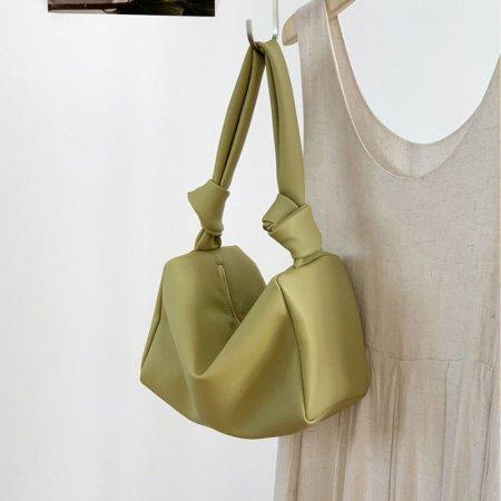 어깨 끈 묶음 매듭 데일리 여성용 가방