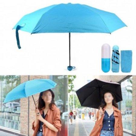 알약케이스 접이식 우산 색상랜덤발송 패션우산