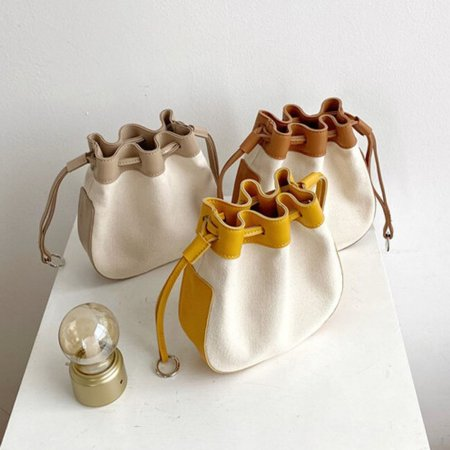 둥근 각 복조리 모양 여성용 핸드백