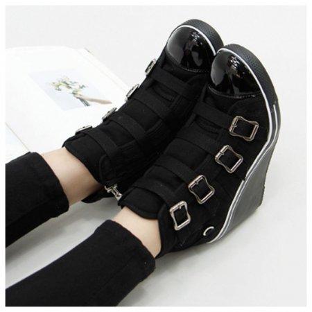 여성 데일리 유행 구두 트렌드 인기 신발 신상 웨지힐