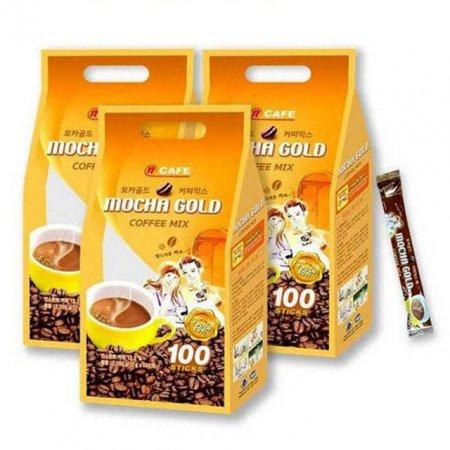N cafe 모카골드 일회용 믹스커피 100개 10박스