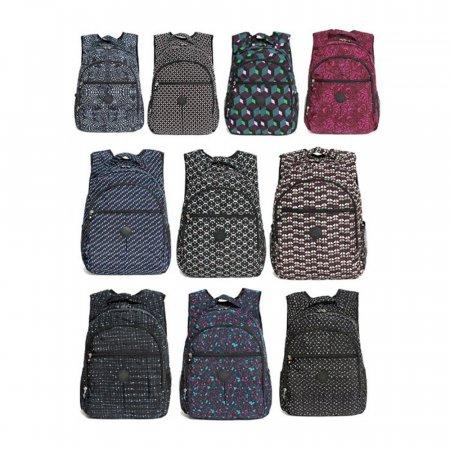 BS~페라어스 여성 패턴패션슬림 등산 백팩가방 OABBT0
