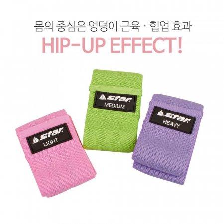 STAR 힙업밴드 스쿼트 하체 근력운동밴드(EU580)
