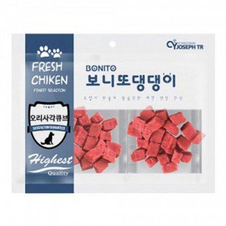 보니또 댕댕이 오리 사각큐브 강아지 수제 애견간식