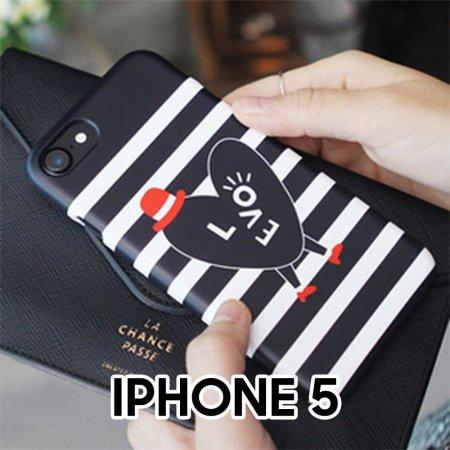 심플패턴 아이폰5 하드 케이스