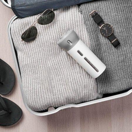 여행용 휴대용 공병 화장품 펌프 샴푸 용기 4in1 gray