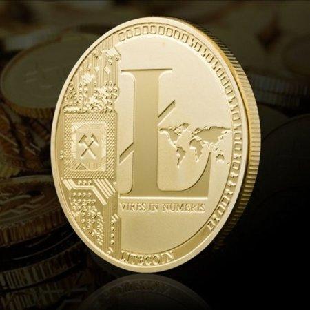 라이트코인 데코 기념장식주화 가상암호화폐 Litecoin