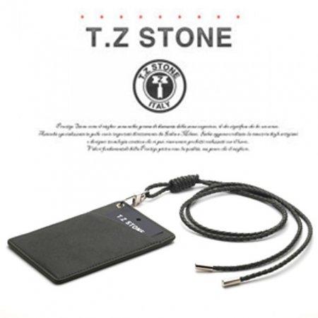 티지스톤-TZ1D220 클래식 카키 목걸이형 카드지갑(사선형)
