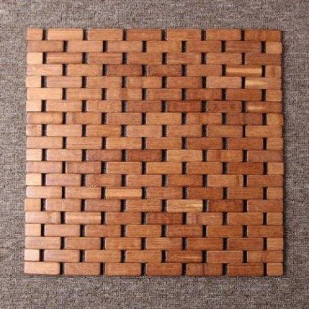 쿨썸머 벽돌무늬 대나무 방석(39cm)