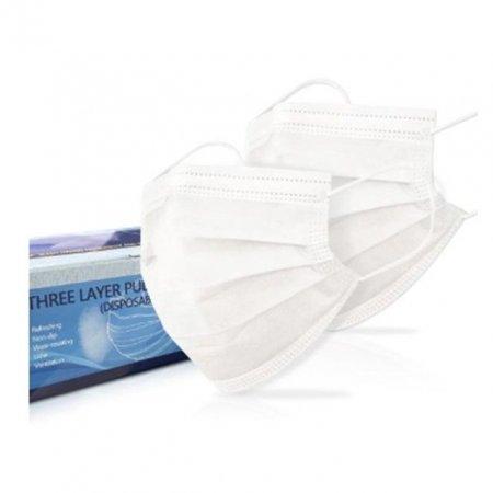마스크 일회용 3중 미세필터 3D 화이트 50매1팩