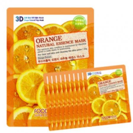 F_푸드어홀릭 3D입체형상 마스크팩10매 오렌지