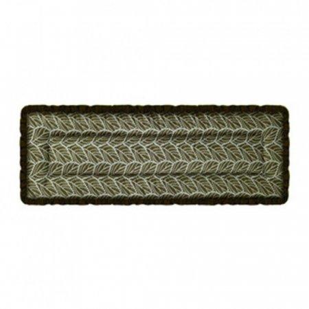 매직크린 분사 나뭇잎 프릴방석 3인 브라운
